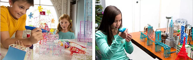 Дети за 3Д дингом
