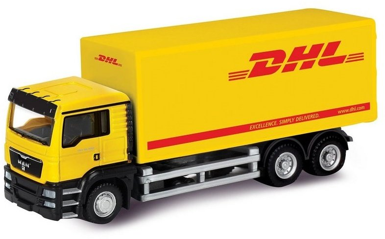 Машина Ideal 1:64 MAN Container Truck DHL